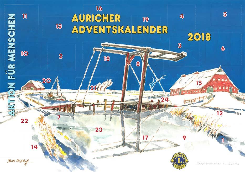 Lions Adventskalender 20189